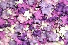 Shade of Purple Mini Flowers Mulberry Paper Petal for Scrapbook Embellishment