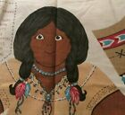 Kessler Concord Fabrics doll cotton panel Native boy girl American 15 family