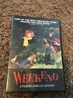 Weekend DVD OOP Jean Luc Godard Mireille Darc Jean Yanne French New Wave