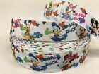 By The Yard 1 Disney Characters With Name Grosgrain Ribbon Scrapbooking Lisa