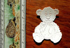 Tattered Lace Card Topper Die Cut Out Snuggles Teddy  Baby