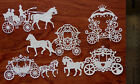 Tattered Lace + Card Topper Die Cut Out Set  Fantasy Carriages