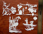 Tattered Lace + Card Topper Die Cut Out Set  Japanese Scene