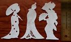 Tattered Lace Memory Box Card Topper Die Cut Out Japanese Ladies Vintage