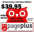 Page Plus 3995 Refill DIRECT ELECTRONIC REFILL  GET IT TODAY  USA DEALER