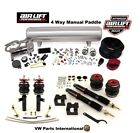 VW Eos Air Lift 4 Way Manual Air Ride Management + Performance Struts Kit Bags