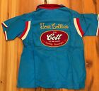 60s Vintage embroidered chain stitch Bowling Shirt Its Cott to Good Hilton Ken
