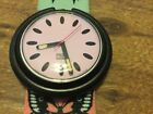Swatch Watch, Butterfly, Pop Swatch, Butterfly band with pink face working