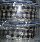 Offray Micro Craft Ribbon Lot Of 4 - Free Shipping