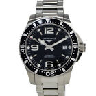 LONGINES Hydro Conquest Watch L3.641.4.56.6 SS Black Dial Auto Mens MC #2467