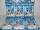 THE SMURFS SCAN SWAPPZ COINS SEALED PACKS LOT OF 6 PACKS NEW SEALED
