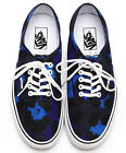 Rare Kenzo Leopard Blue Navy Vans Authentic Old Skool Era Sk8 Hi Skate Shoes 10