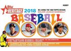 2018 Topps Heritage Baseball Factory Sealed HOBBY 12 Box Case Presell OHTANI RC