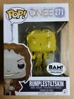 FUNKO POP Once Upon a Time Rumplestiltskin 271 BAM gold exclusive FREE SHIPPING!