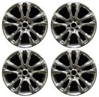 20 Chevrolet Traverse High Country 2018 Factory OEM Rim Wheel Full Polish Set