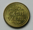 NO CASH VALUE Brass Token Coin AU+ toned lustre American Eagle bird 27mm