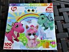 New Masterpieces Brand TY Beanie Boo's100 Piece Glitter Puzzle