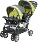 Baby Trend Sit N Stand Double Stroller Carbon Rear Brake System Infant Baby Safe