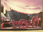 PLANS RARE VINTAGE 1/12 SCALE CONSESTOGA WAGON BY JOHN THOMPSON 1976 NEVER USED