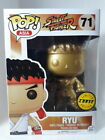 Rare!!! Funko Pop Gold Ryu [CHASE] # 71 Street Fighter (Protector)