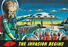 MARS ATTACKS HERITAGE 2012-80 CARD SET PLUS 1994 ARCHIVES #56-66 UNPUBLISHED BOX