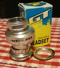 NOS GT PRO SERIES HEADSET polished finish old school bmx PFT PERFORMER