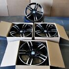 Fits BMW 5 6 Series M6 Sport Style 437 in Black Machined Rims 18 Wheels