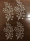 8pcs Paper Die Cuts Heart Foliage Branch Cardmaking Scrapbooking Embellishment