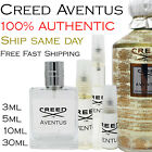 Creed AVENTUS 16L01 3ml 5ml 10ml 30ml Authentic Ship Same Day - Free Shipping