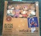 "Boyd bears musical Mobil  ""first Bear I See Tonight"" baby Shower Gift New"
