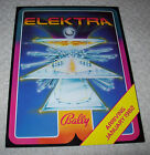 BALLY ELEKTRA PINBALL MACHINE FLYER ARRIVING JAN 1982