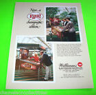 FIRE CHAMPAGNE By WILLIAMS ORIGINAL NOS 1987 PINBALL MACHINE PROMO SALES FLYER