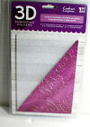 Crafters Companion 3D Embossing Folder Love Blossoms 5 x 7