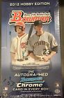2012 Bowman baseball HOBBY BOX Sealed chrome Harper Xander Bogaerts Cole RC Auto