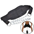 1X Dipping Belt Body Building Weight Lifting Dip Chain Exercise Gym Training FF