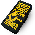 WTF | Winner Winner Chicken Dinner | Printed Faux Leather Flip Phone Case | #2