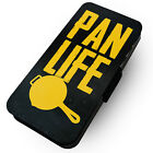 WTF | Pan Life | Printed Faux Leather Flip Phone Cover Case | #2