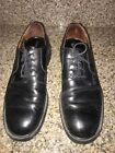 banana republic Mens Dhoes Oxford Lace Up Size 10 Black Leather