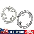 Pair Front and Rear Brake Disc Rotor Set for Honda CR 125 250 CRF 250 450 R X