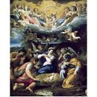 Poster Print Wall Art entitled The Nativity c1596 98