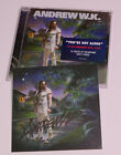 ANDREW W.K. - You're Not Alone CD - Signed - Autographed