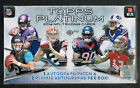 2014 TOPPS PLATINUM FACTORY SEALED HOBBY BOX 3 AUTOS POSSIBLE JIMMY GAROPPOLO RC
