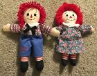 """Raggedy Ann & Andy Dolls Approximately 13"""""""