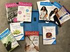 WEIGHT WATCHERS 2011 Points Plus COMPLETE FOOD DINING OUT COMPANION Books Binder