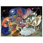 Poster Print Wall Art entitled The Nativity