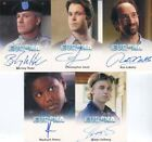 Eureka Seasons 1 & 2 Premium Packs Autograph Card Lot 5 Cards