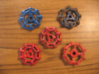 5 Vintage Outside Water Faucet Knobs/Handles STEAMPUNK Industrial Arts