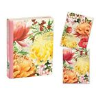 Morning Blossoms Library Note Cards Env by Michel Design Works NEW