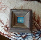 Vintage Small Picture Sailboat w/ Frame