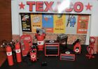 TEXACO GARAGE KIT  WITH ACCESSORIES 1:18 Scale DIORAMA!